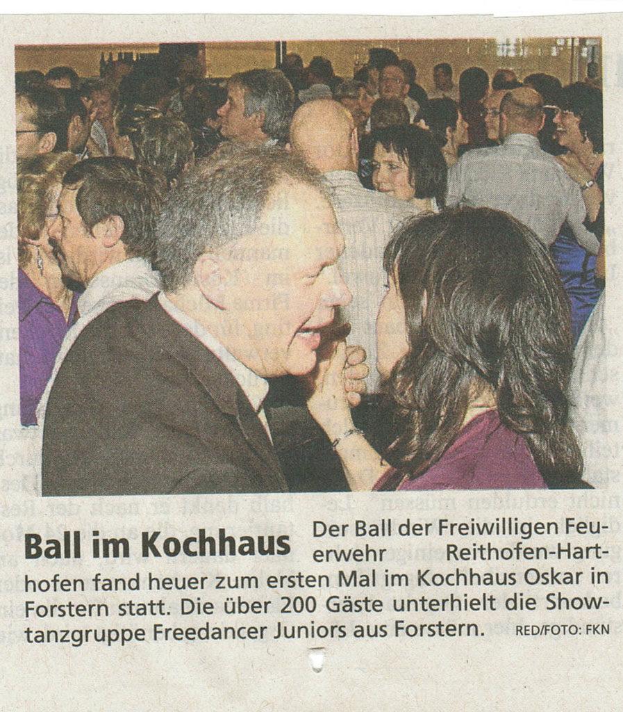 Ball im Kochhaus