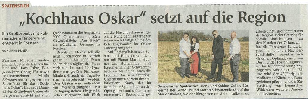 Kochhaus-Oskar,-setzt-auf-die-Region