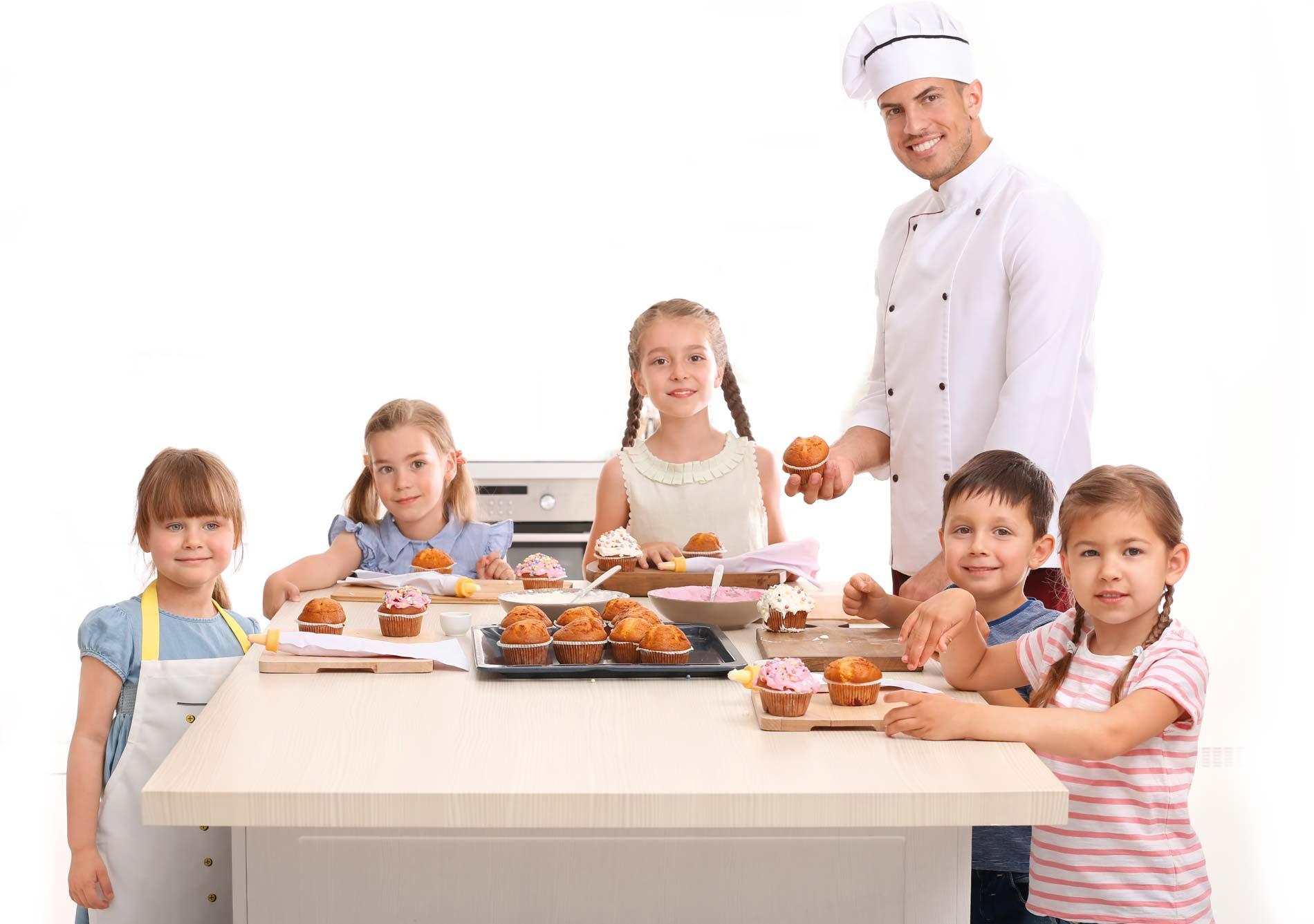 Oscar, Kinderessen, Kochschule